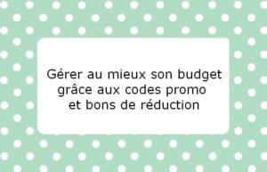Comment gérer au mieux son budget grâce aux codes promotions et bons de réduction