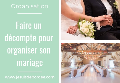 faire un d compte pour organiser son mariage je suis d bord e. Black Bedroom Furniture Sets. Home Design Ideas