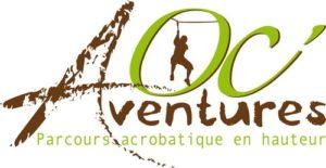 Départ en accrobranche chez Oc Aventures