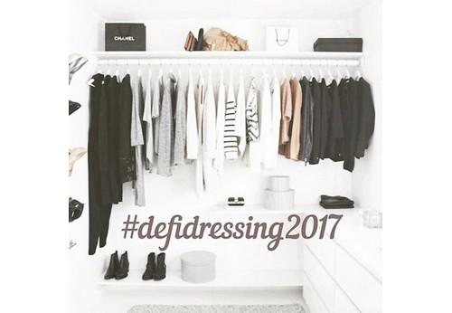 Mon défi dressing 2017