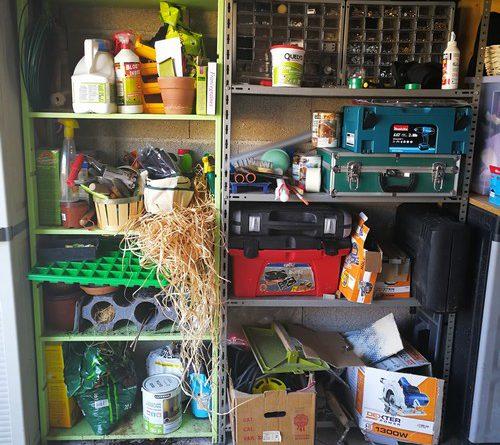 comment j 39 ai r organis mon garage avec orthex smartstore je suis d bord e. Black Bedroom Furniture Sets. Home Design Ideas
