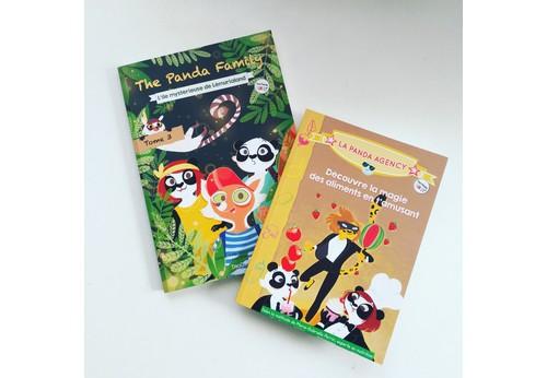 Nombreux livres de The Panda Family à gagner