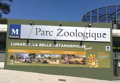 Le zoo du Lunaret à Montpellier