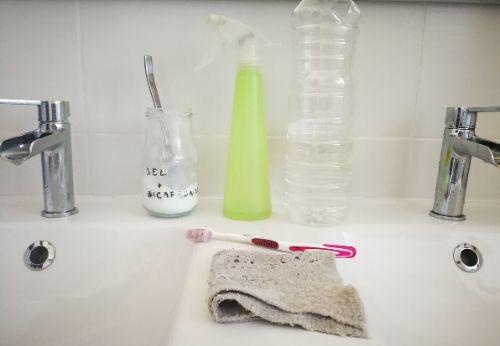 Ma routine ménage pour la salle de bains