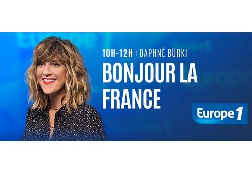 Je suis débordée dans Bonjour la France sur Europe 1