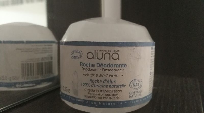 La pierre d'Alun, mon anti-transpirant naturel