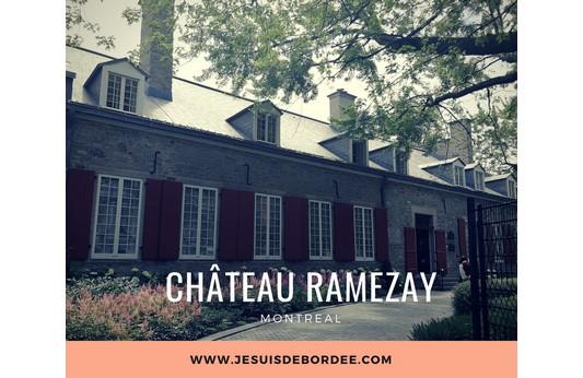 Le château Ramezay à Montréal