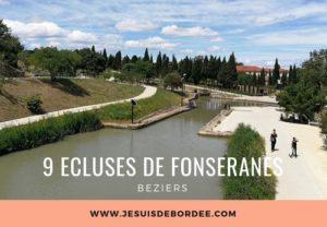 Les 9 écluses de Fonseranes à Béziers
