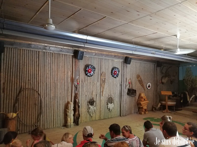 Spectacle traditionnel Wendat