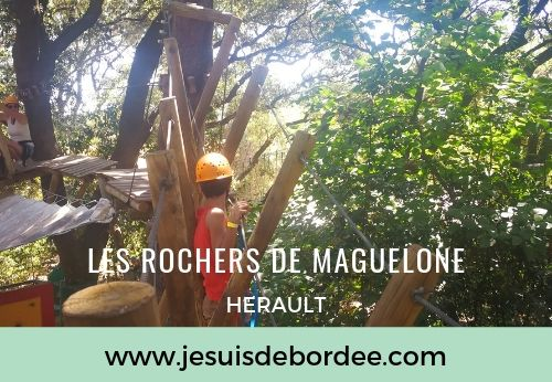 On est allé grimper aux Rochers de Maguelone