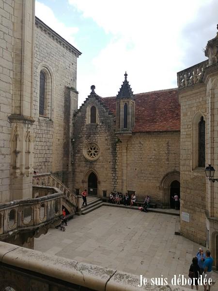 esplanade du sanctuaire rocamadour