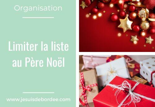 Limiter la liste au Père Noël de ses enfants