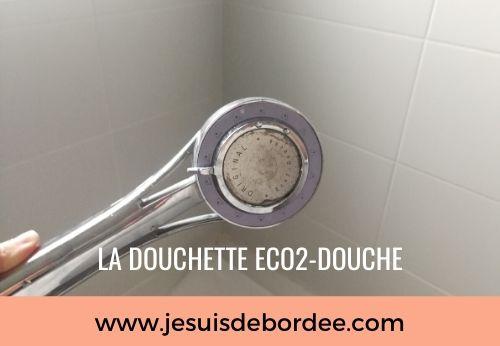 Economiser de l'eau avec la douchette Eco2-Douche