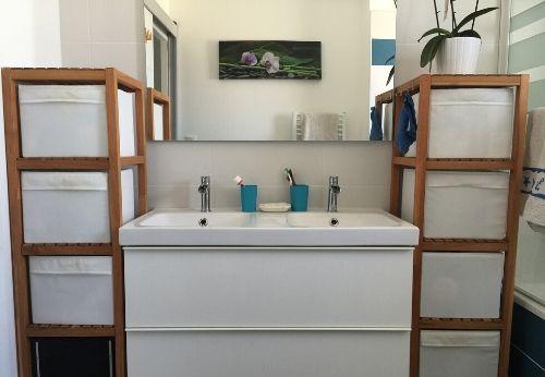 Ma salle de bain minimaliste
