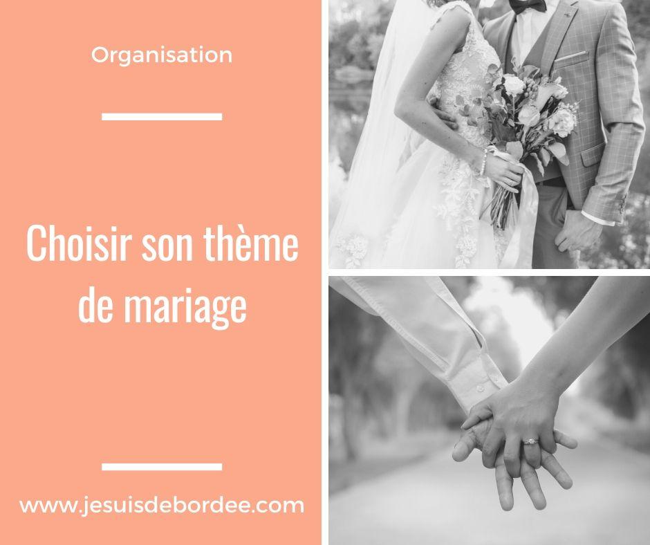Choisir son thème de mariage