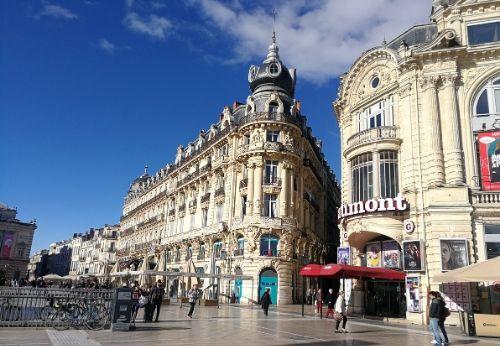centre-ville de Montpellier