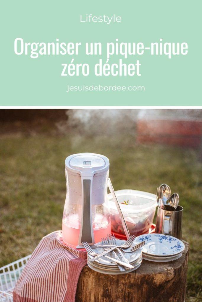 Organiser un pique-nique zéro déchet