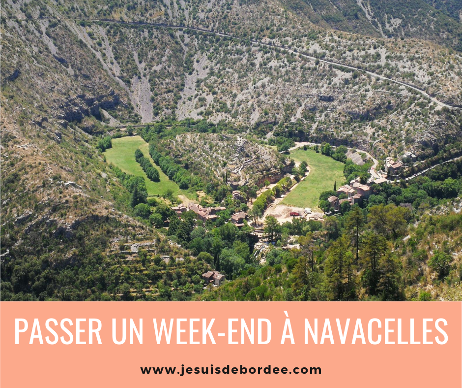 week-end à Navacelles
