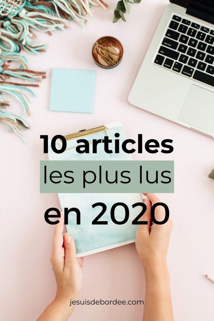 10 articles les plus lus en 2020