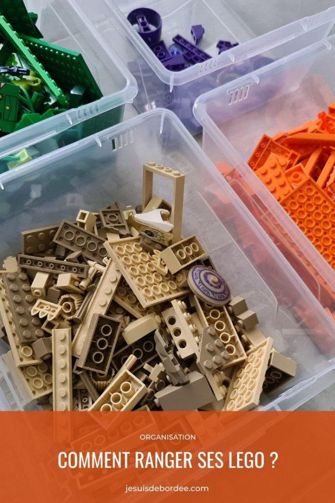 ranger ses Lego