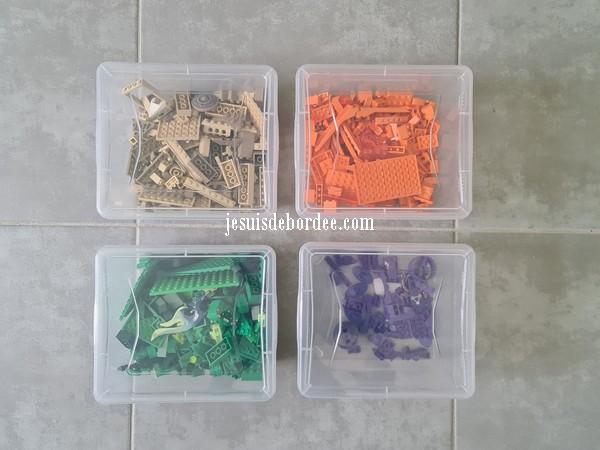 boites de Lego