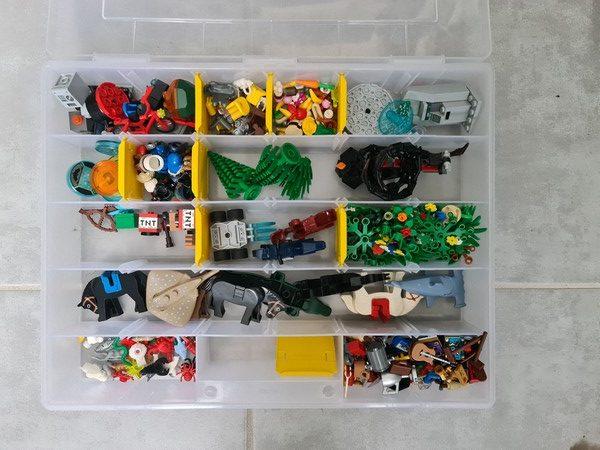 décorations Lego triés
