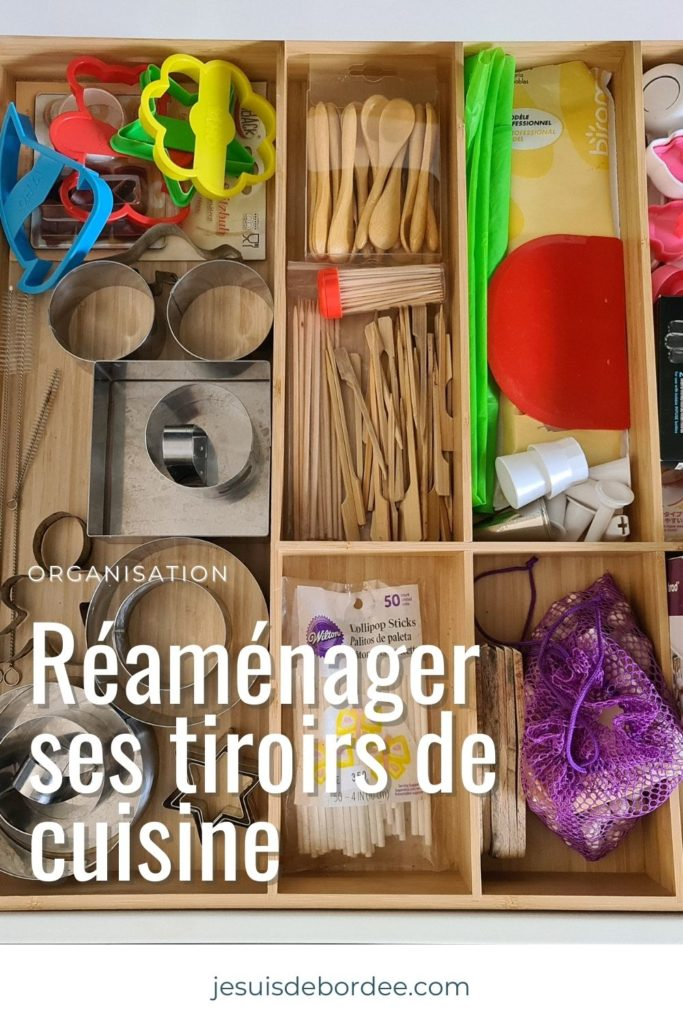 Réaménager ses tiroirs de cuisine