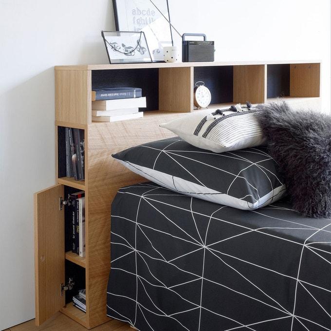 Tête de lit avec table de chevet