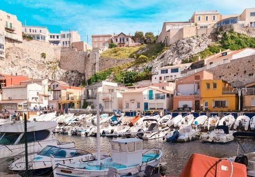 Le Vallon des Auffes, un écrin au cœur de Marseille